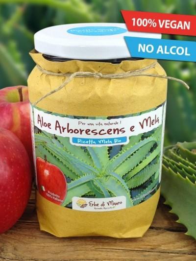 Aloe Arborescens del Frate, con Mela, no alcol-Succhi e composti di Aloe
