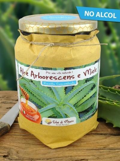 Succo Aloe Arborescens Ricetta Concentrata no alcol del Frate-Succhi di Aloe