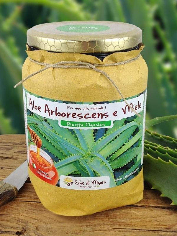Succo Aloe Arborescens Ricetta Classica del Frate-Ricetta del Frate