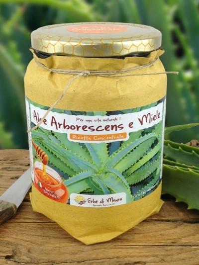 Succo Aloe Arborescens Ricetta Concentrata del Frate-Ricetta del Frate