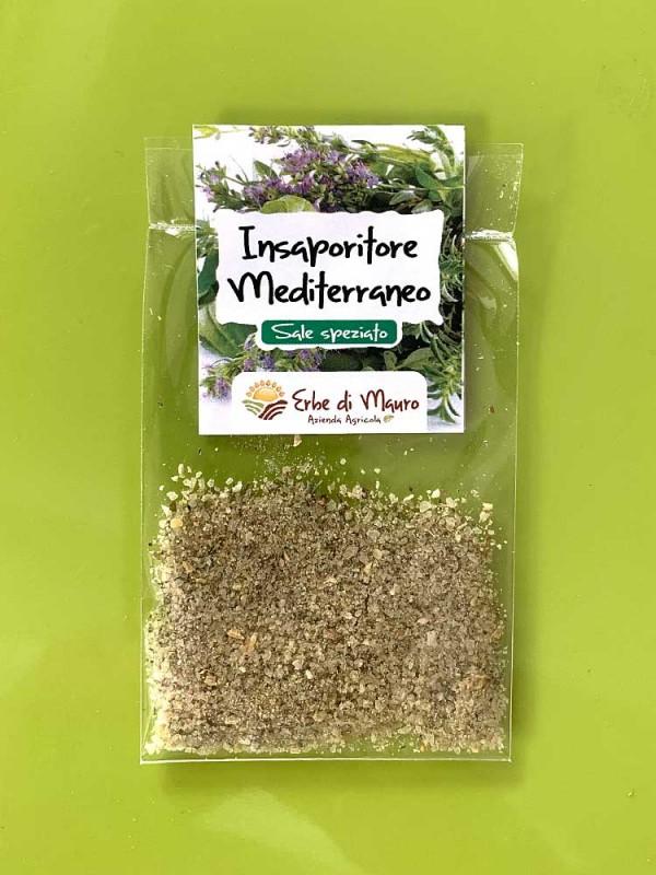Mediterranean flavor, spicy salt with vegetables, Single use
