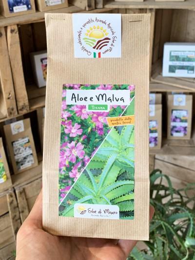 Aloe Arborescens e Malva 70-500g e 1kg