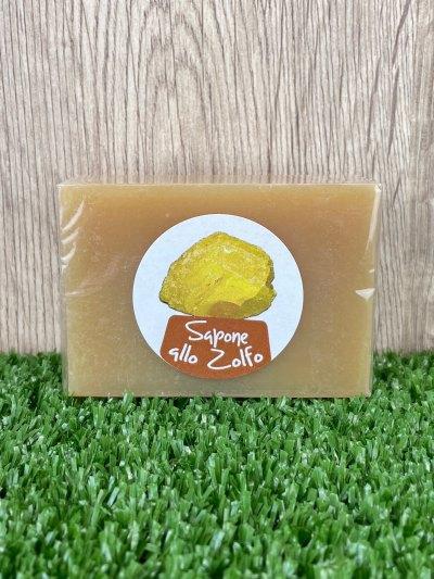 Sulfur Handmade Soap, 100g