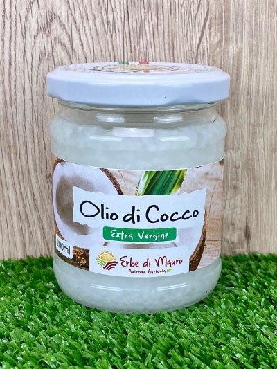 Olio di Cocco vergine, 200ml-Superfood