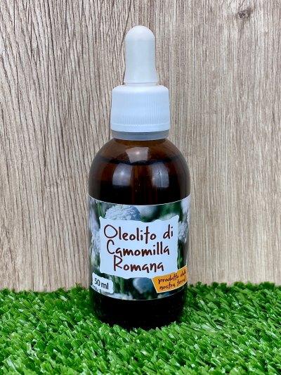 Oleolito di Camomilla Romana, 50-250 ml-Oleoliti ed oli essenziali
