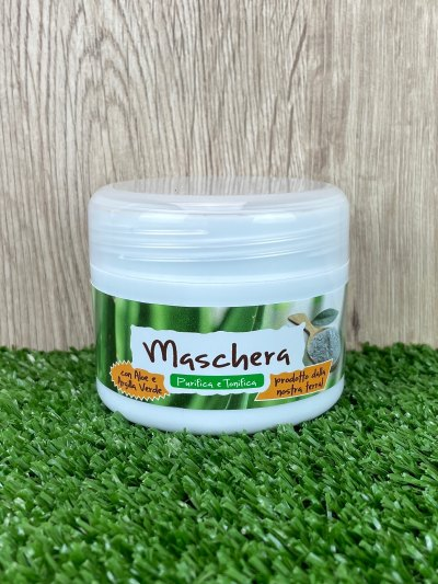 Aloe Vera and Green Clay Face Mask, 100ml