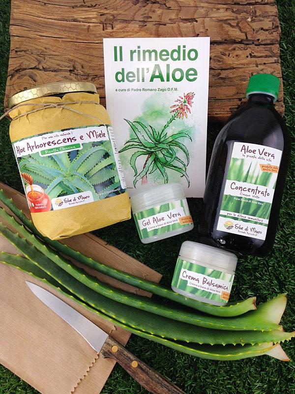 Pacchetto Benessere-Cosmetici all'Aloe Vera