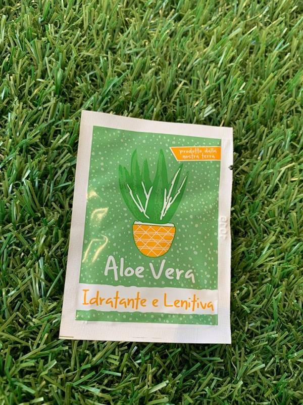 Monodose Crema All'Aloe Vera, Idratante e Lenitiva-Monodose