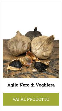 black garlic voghiera fermentato
