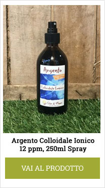 argento colloidale spray 12ppm 250ml