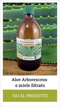 succo di aloe arborescens filtrato