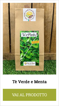 tè verde e menta