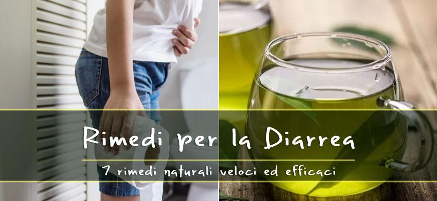 rimedi naturali diarrea
