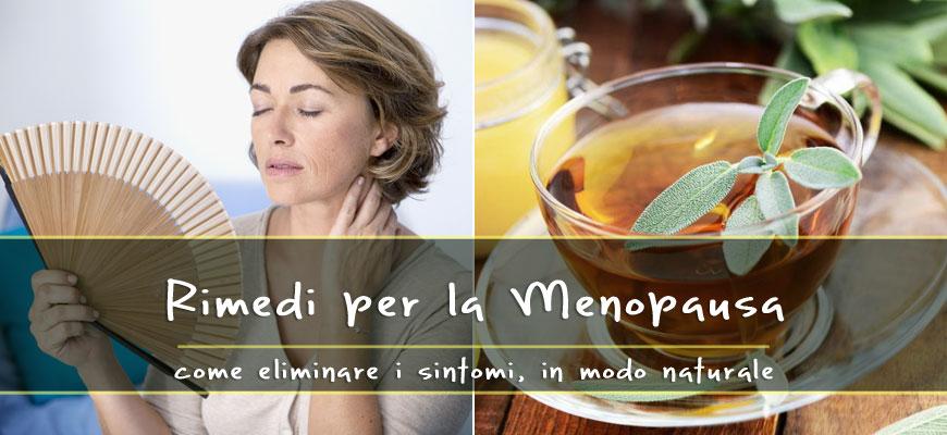 rimedi naturali sintomi menopausa