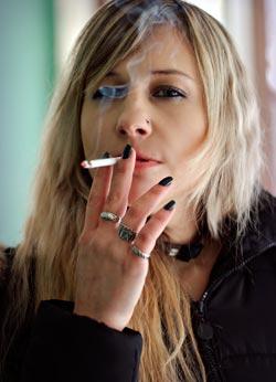 osteopenia sigarette