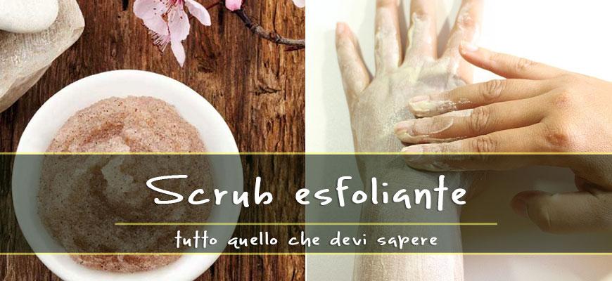 scrub esfoliante