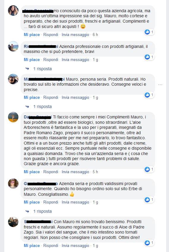 recensioni facebook